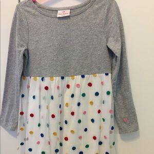 Adorable girl's polka dot dress by Hanna Andersson